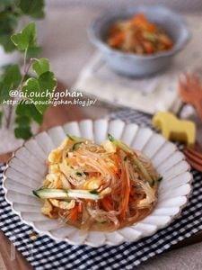 定番なあの味♡デパ地下惣菜風♡基本の春雨サラダ♡