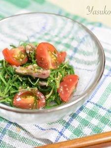 おかひじきのマスタードサラダ