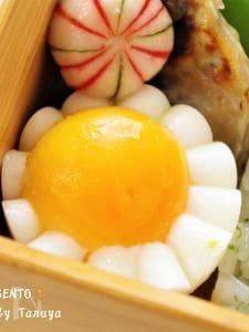 よく見かけるかわいい茹で卵の切り方