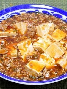 ピリッと美味しい「麻婆豆腐」