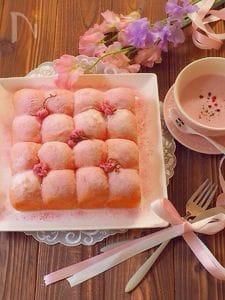 桜ちぎりパン