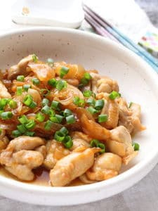 焼きとりの味!鶏肉の照り焼き炒め