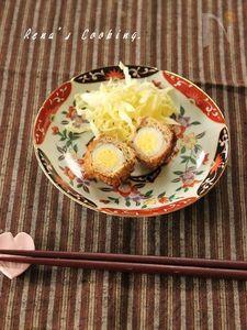 うずらの卵の茹で方(ミニスコッチエッグ)