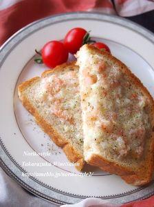 おつまみ海老トースト
