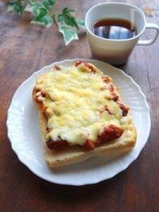 ラタトゥイユピザトースト