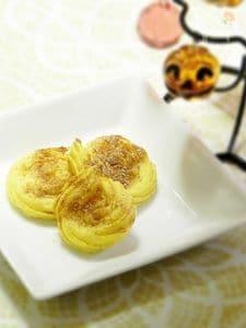クリームポテト&パンプキンの焼き菓子