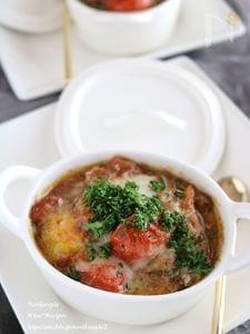 サバ味噌煮缶で簡単洋風チーズ焼き