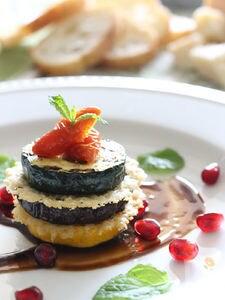 贅沢パルミジャーノの野菜のミルフィーユ