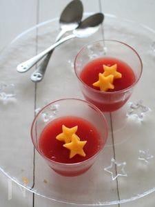 【夏バテ予防・美肌に】トマトのゼリー