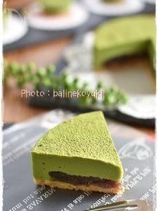 餡入り抹茶の生チョコケーキ