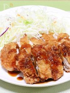 チキンカツ(串カツ屋さんソースかけ)