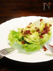 ザクッとレタスの簡単サラダ