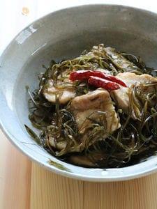 豚ばら肉と昆布の炒め物