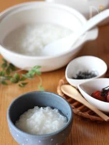 基本のお粥の作り方