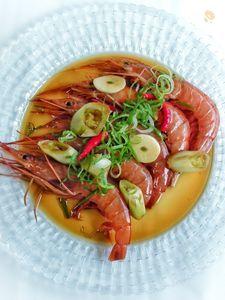 カンジャンセウ(海老の醤油漬け)韓国料理