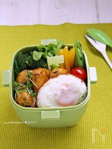 一正蒲鉾★白身魚揚げdeロコモコ丼~★