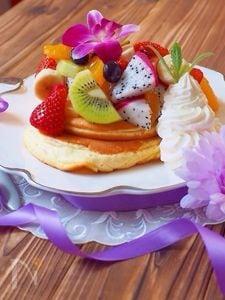 ご褒美スフレパンケーキ