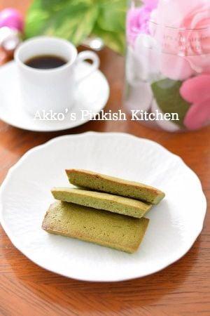 簡単♡抹茶フィナンシェ スナック感覚の軽い味わいです♪