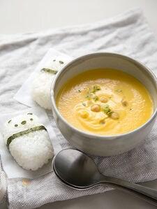 クリーミーキャロットスープ