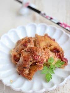 鶏もも肉の梅肉おかか炒め【作りおき】
