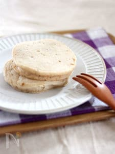 【ライスミルク×米粉】黒糖くるみパンケーキ