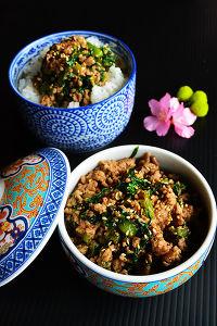 ゲン担ぎの常備菜 かつお菜炒め(豚肉入)