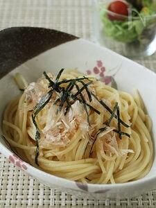 【ずぼらレシピ】梅バタースパゲッティ