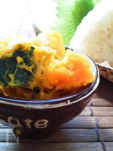 お弁当に〜かぼちゃチーズin塩麹(作りおき)〜