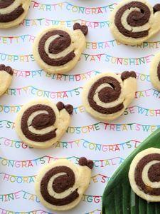 かたつむりのアイスボックスクッキー