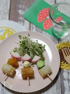 3種のマヨディップdeおでん形サラダ