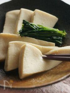 じゅわっと、高野豆腐のだし煮