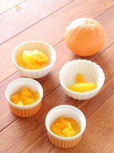 離乳食・幼児食 オレンジの切り方