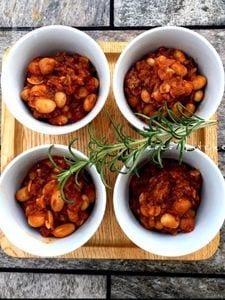 市販の水煮豆で超簡単♪『トマト煮込みビーンズ』