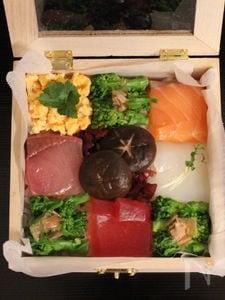 宝石箱のような モザイク寿司♪