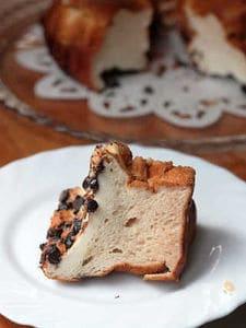 塩糀と甘糀のエンゼルケーキ(お砂糖も油脂も小麦粉もなし!)