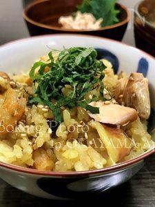 炊飯器で簡単☆海鮮カレー炊き込みごはん