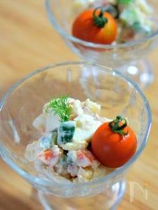 柚子胡椒味のポテトサラダ