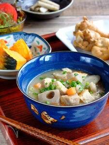 根菜満載☆芯まで温まる、ぬっぺ汁!【長崎県郷土料理】