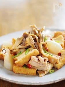 シンプル炒り鶏