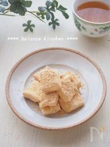 材料2つ・レンジで。マシュマロ豆乳餅