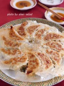 パリッと羽根つき!味噌が決め手の白菜餃子