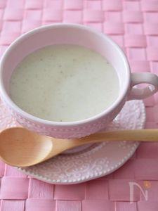 椎茸とじゃがいものポタージュ 秋味濃厚スープ♪