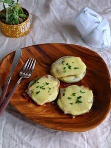 新玉ねぎのチーズステーキ