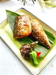 少しモダンな鯖のゆず味噌焼き