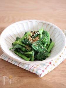 小松菜の中華ナムル