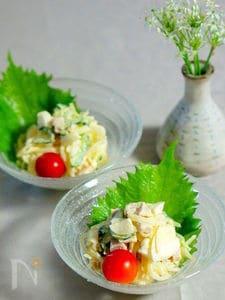 柚子胡椒味の春雨サラダ