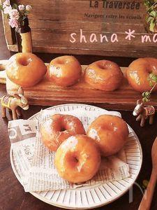 発酵なし♪ふわんふわんのグレーズイーストドーナツ♪