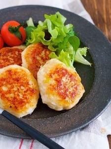 冷めても美味しい♪ふわふわ♪『味噌マヨ☆鶏つくね』
