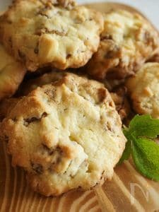 コーンフレークが入った、サクサクのお手軽クッキー