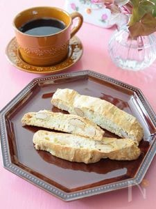 ビスコッティー アーモンドたっぷり♪イタリアのお菓子